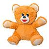 Мягкая игрушка Zolushka Медведь Умка травка 48см рыжий (1081)