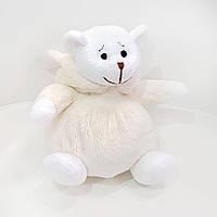 Мягкая игрушка Zolushka Медвежонок Буся в костюме зайки 16см (549), фото 1