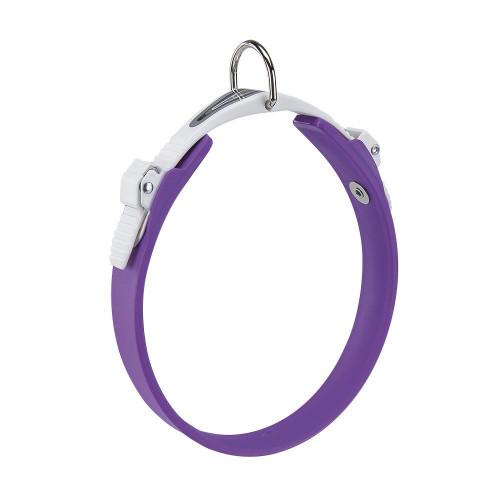 Эластичный ошейник с системой микрорегулировки Ferplast Ergoflex C18/33 Purple для собак