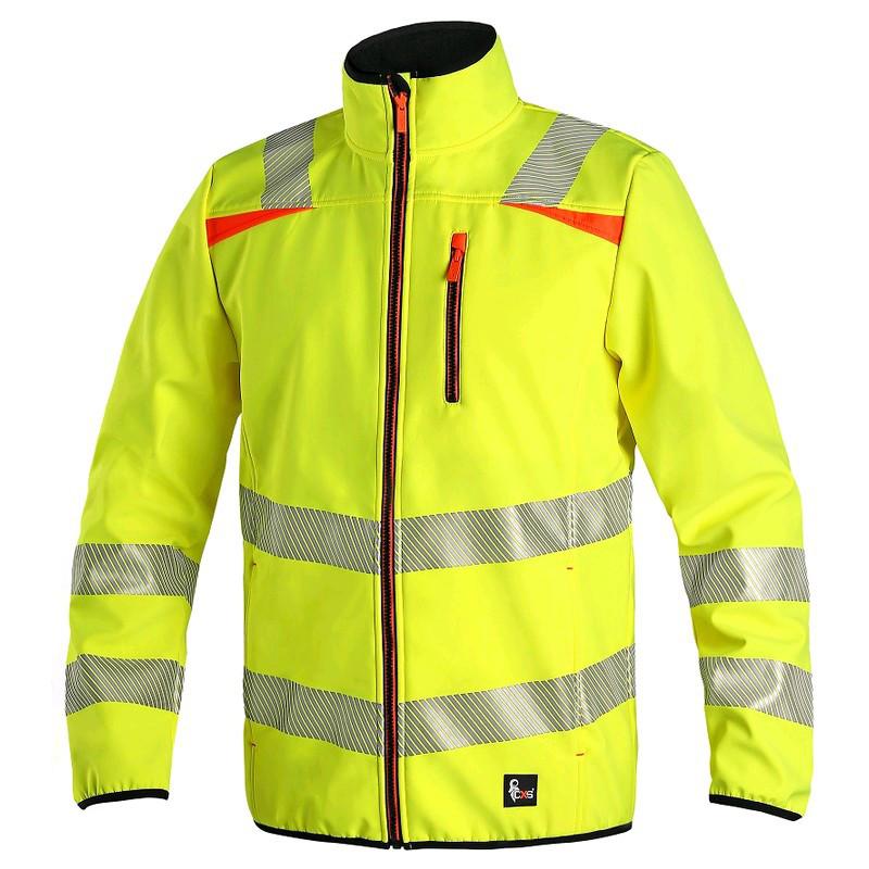 Куртка сигнальна CXS HOVE, жовта