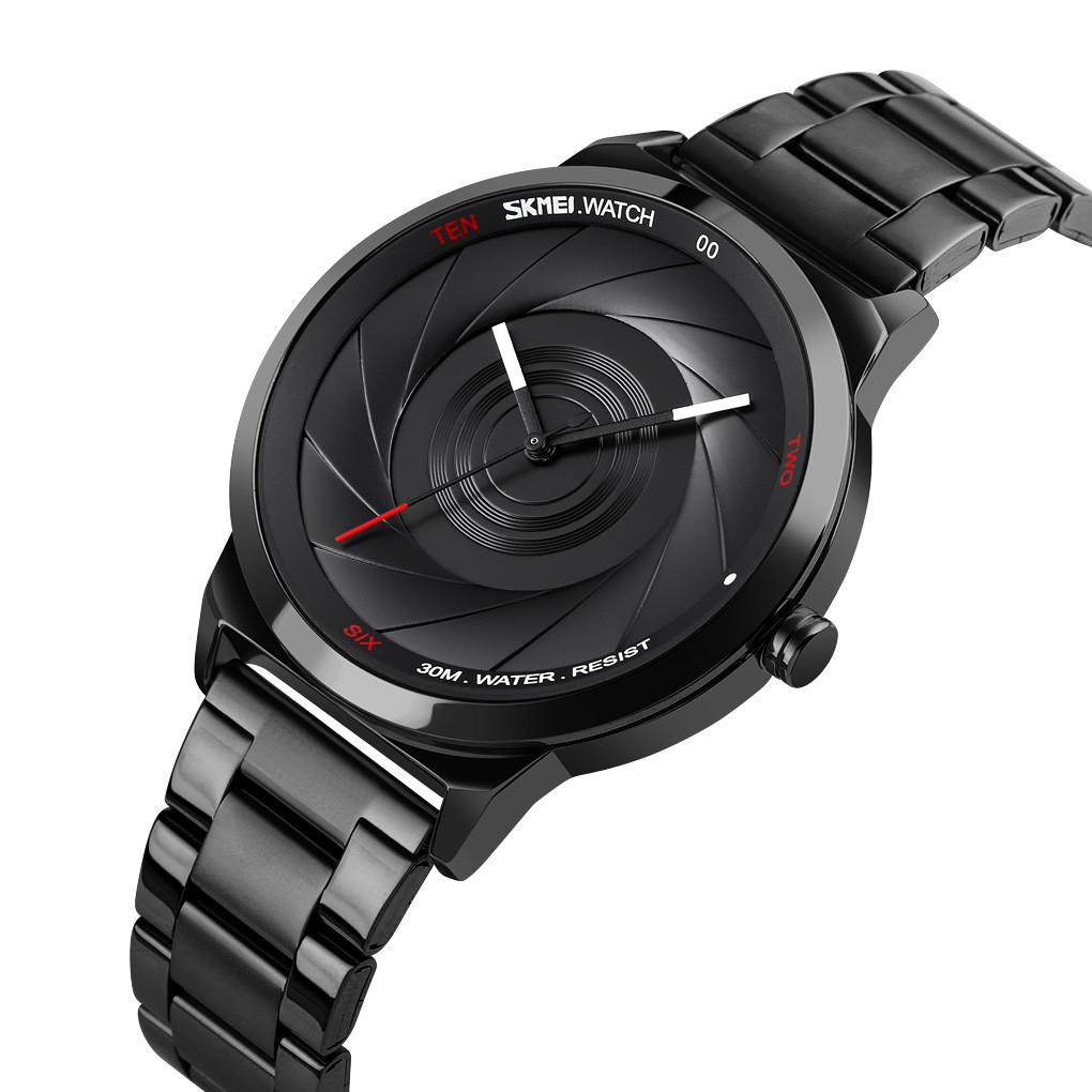 Skmei 9210 черные мужские оригинальные часы