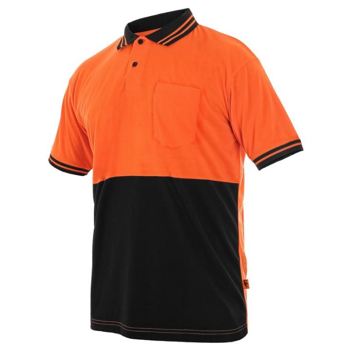 Футболка оранжево-черная, CXS LIAM