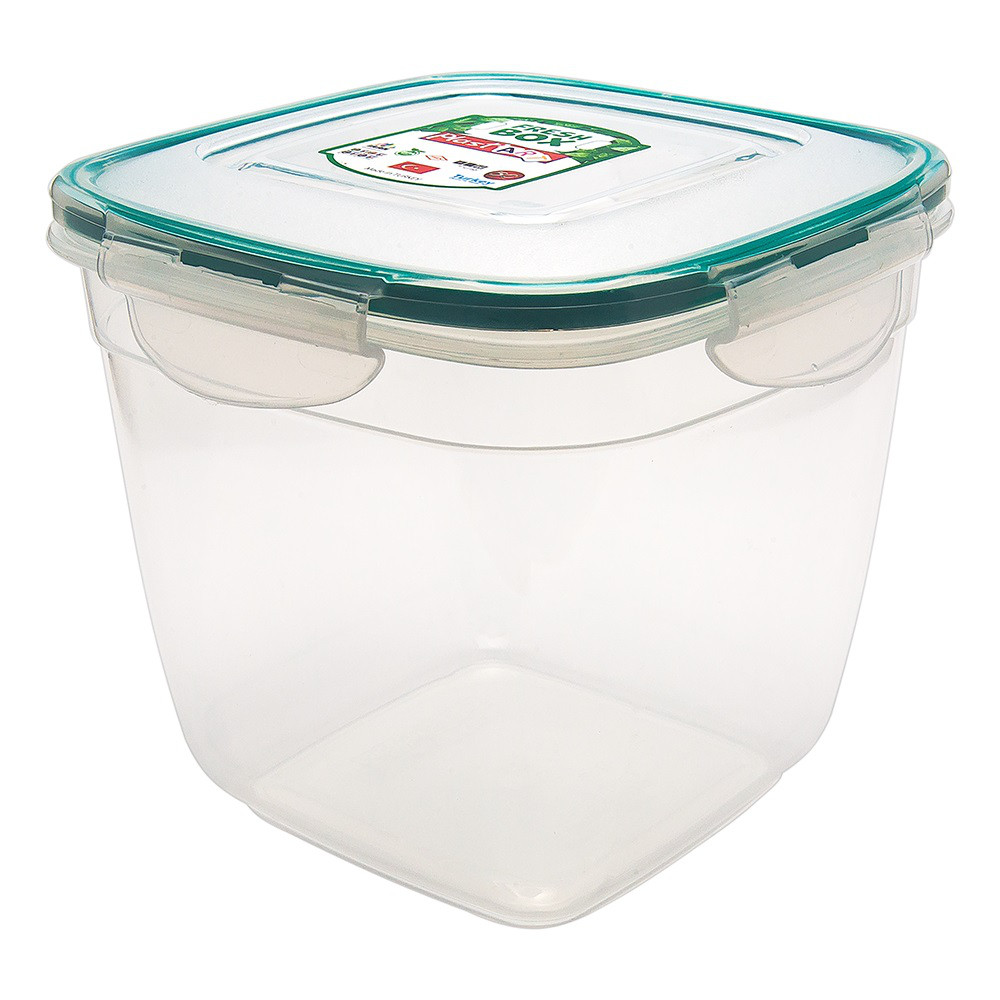 Контейнер Fresh Box квадратный глубокий 2 л прозрачный