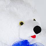 Мягкая игрушка Zolushka Медведь Топтыгин маленький 47см белый (4363), фото 3