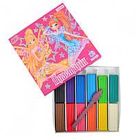 Пластилін 12 кольорів Winx, 1Вересня (32)