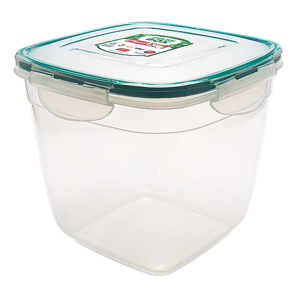 Контейнер Fresh Box квадратный глубокий 1,1 л прозрачный, фото 2