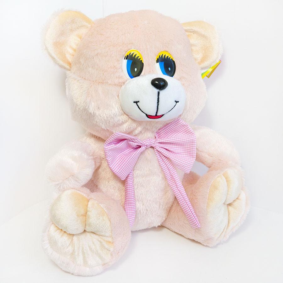 Мягкая игрушка Zolushka Медведь Тимка большой 36см молочный (4222)