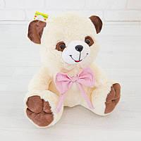 Мягкая игрушка Zolushka Медведь Тимка маленький 26см молочный (4192)