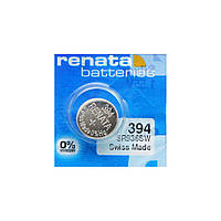Часовая батарейка Renata 394 / SR 936 SW / AG9, фото 1