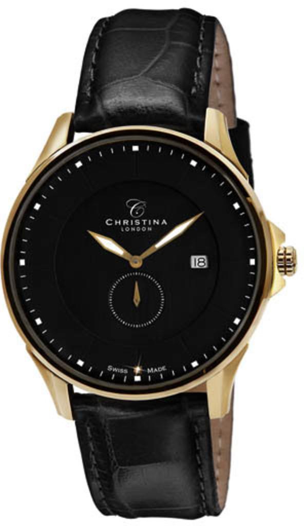 Часы CHRISTINA 518GBLBL