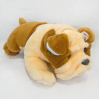 Мягкая игрушка Zolushka Собака Боксер 52см (185), фото 1