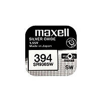 Часовая батарейка Maxell 394 / SR 936 SW / AG9 (1шт.), фото 1