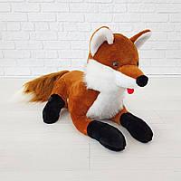 Мягкая игрушка Zolushka Лиса 58см рыжая (075), фото 1