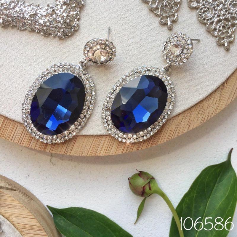 Серьги Blue Charm