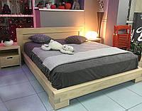 Кровать Валетта подростковая из массива дерева ольхи