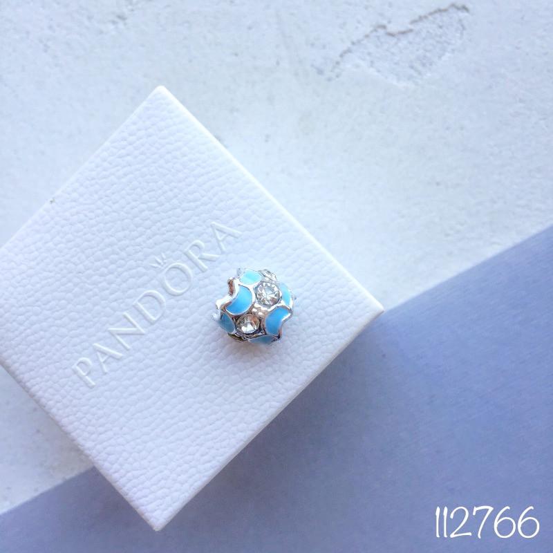 Бусина  blue candy