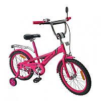 """Двухколесный велосипед Tilly """"PORSCHE"""" розовый 18"""""""