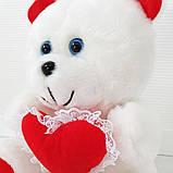 М'яка іграшка Zolushka Ведмежа з серцем 31см (111), фото 3