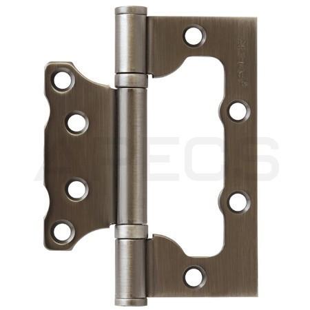 Петля накладна APECS 100*75*2,5-B2-V2-Steel-GRF
