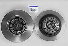 Комплект задних дисков в сборе с подшипником Renault Megane 3 (Original 432007595R)