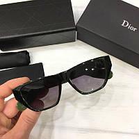 Женские солнцезащитные очки Wayfarer Dior реплика  Черные, фото 1