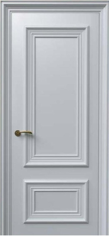 Дверь межкомнатная Terminus Модель Бранду Белая Эмаль цвет (глухая)