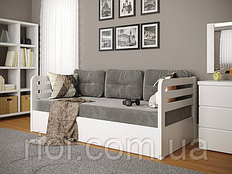 Детская деревянная кровать Немо люкс с подъемным механизмом