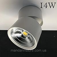 Поворотний LED світильник 14W Feron AL541 (білий), фото 1