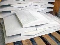 Парапеты(крышки) бетонные на забор 2-хскатные 300х630мм