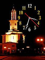 Кварцовий годинник настінний Івано-Франківськ 30х40 см