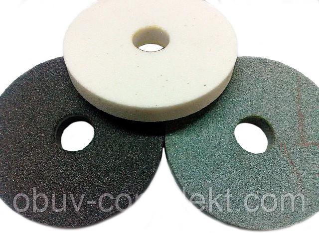 Круги абразивний (камінь) 14А 125*20 вн. 32мм. малий білий