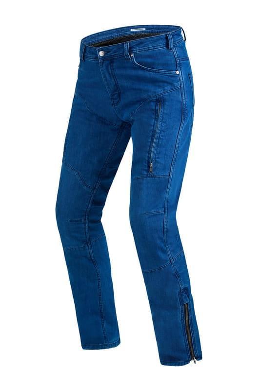 Мотоштаны джинсовые Rebelhorn HAWK II Blue