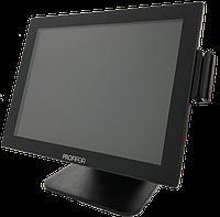 POS Терминал PROFIFOR FS1501W J1900 4Gb 128 SSD + считыватель магнитных карт