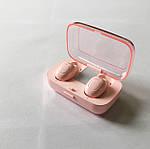 Беспроводные наушники блютуз гарнитура Bluetooth наушники 5.0 Wi-pods XG-21. Розовые, фото 8