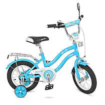 Красивый велосипед PROF1 14Д. L1494  Гарантия качества Быстрая доставка