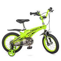 Велосипед детский PROF1 14 дюймов LMG14124 Projective Гарантия качества Быстрая доставка