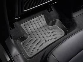 Ковры резиновые WeatherTech Audi Q5 2009-2017 задние черные