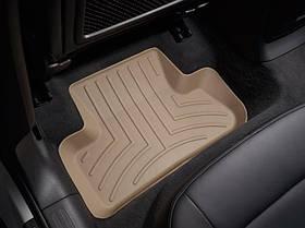 Ковры резиновые WeatherTech Audi Q5 2009-2017 задние бежевые
