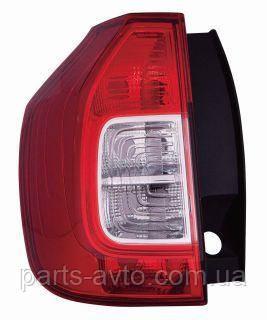 Ліхтар задній Dacia/Renault Logan MCV 2013 - лівий 553-1902L-UE