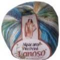 Пряжа для ручного и машинного вязания Lanoso Alpacana Fine Print (Альпакана Файн Принт)