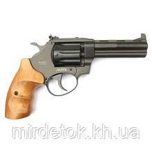Револьвер під патрон Флобера РФ-441М з букової рукояткою АКЦІЯ