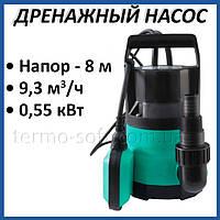 Дренажный насос Taifu GP 550 0,55 кВт погружной для откачки грязной воды и полива