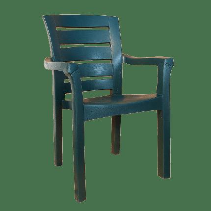 Кресло Irak Plastik Didim зеленое, фото 2