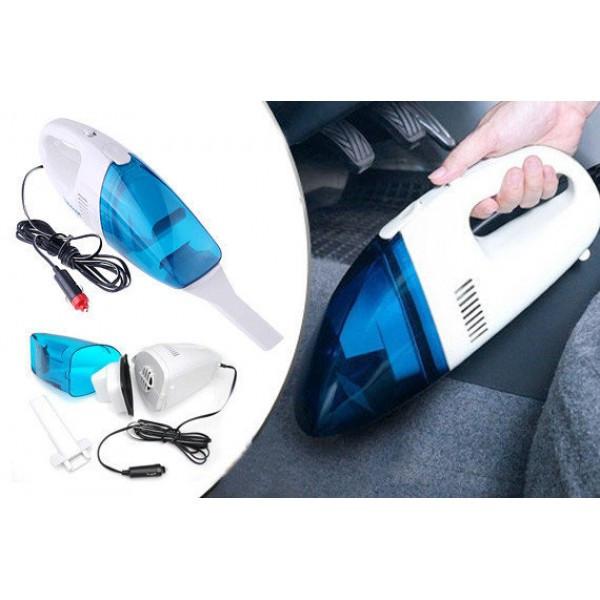 Пылесос автомобильный синий High Power Vacuum Cleaner