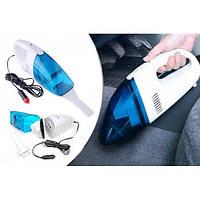 Пилосос автомобільний синій High Power Vacuum Cleaner, фото 1