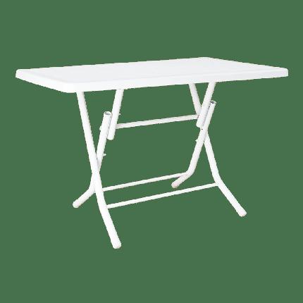 Стол складной Irak Plastik 70x115 белый, фото 2
