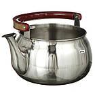 Чайник со свистком музыкальный A-PLUS на 4.0 л нержавейка для плиты, фото 2