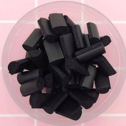 Фоам чанкс черный для слаймов (50543), фото 2