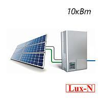 """Мережева сонячна електростанція 10.4 кВт, 380 В, під """"зелений тариф""""(комплект обладнання)"""