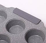 Форма для запекания 38*26*3см из углеродистой стали с 12 отделениями, фото 6